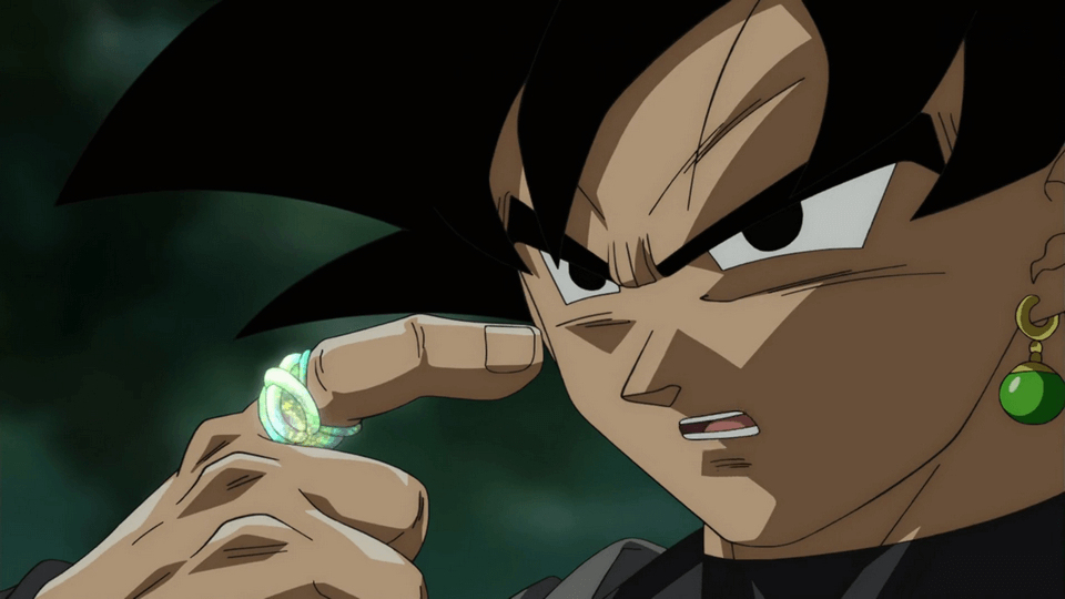 What is the ring that Goku Black wears?